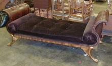 EMPIRE STYLE FERGUSON COPELAND LIMITED NEO CLASSICAL DAY BED. APPROX 7'8