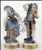PAIR OF GERMAN PORCELAIN FIGURES.