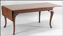 SHERATON STYLE MAHOGANY DROPLEAF TABLE.