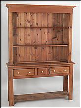 COUNTRY PINE HUTCH.
