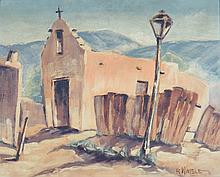 R. WIMBLE (20TH CENTURY) SOUTHWESTERN CHURCH.