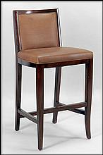 ROBERT LEIGHTON NEW YORK MANHATTAN BAR STOOL.