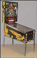 A WILLIAMS 'BIG GUNS' PINBALL MACHINE.