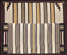 TWO SOUTHWESTERN WOOL RUGS.