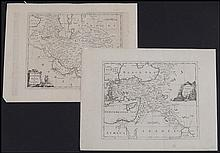 GEORGE ROLLOS (18TH CENTURY) TWO MAPS.