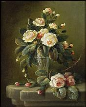 DUTCH SCHOOL STYLE (20TH CENTURY) FLORAL BOUQUET.