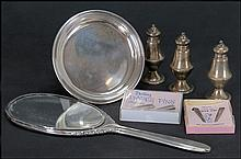 COLLECTION OF STERLING SILVER ITEMS.