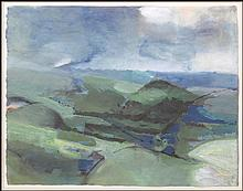 ARTIST UNKNOWN (20TH CENTURY) LANDSCAPE.