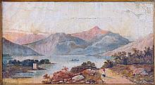CONTINENTAL SCHOOL (EARLY 20TH CENTURY) MOUNTAIN SCENE.