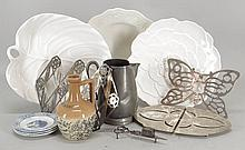 COLLECTION OF TABLEWARES.