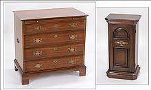 PENNSYLVANIA HOUSE CHERRY WOOD CHEST OF DRAWERS.