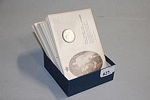 20 danske sølvmønter - Dekoreret med Royal Copenhagen regenter