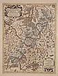 Partie Orientale du Temporel de / l' Archeversche et Eslectorat de / Mayence / et le Comte de Reineck. Paris, 1692.