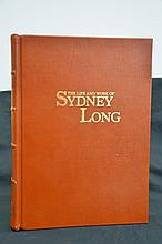 Fine Binding Sydney Long Art Book Full Leather