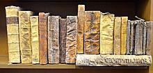 Antiquarian Vellum Bound Books
