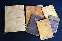 Antiquarian Vellum Manuscript Books