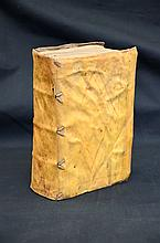 1577 Full Vellum Antiquarian Book