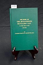 Unit History - 17th Battalion AIF