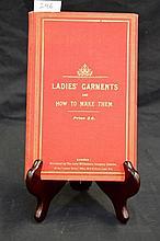 Rare 19th century book on Ladies' Garments