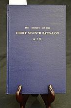 Unit History - 37th Battalion A.I.F.