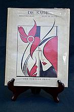 De Sade - Includes the controversial plate The Moralist  - Fortune Press