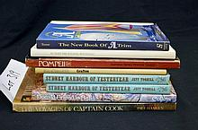 Diverse lot of 8 books