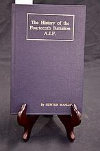 Unit History - History of the Fourteenth Batallion