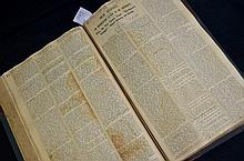 Articles on Old Sydney in huge scrapbook