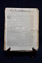 1788 & 1789 London Newspaper