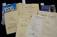 Everest Edmund Hilary Tenzig Norgay Signed
