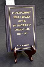 Unit History - 6th Machine Gun Company