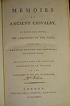 1784 Memoirs of Ancient Chivalry