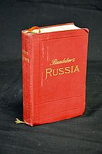 Baedekers Russia - Published 1914 - First edition - Travel