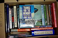 Box of Military books