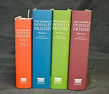 The Diaries of Donald Friend, 4 volumes