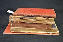 6 x Typography Titles - Specimen Books - Printing Periodicals