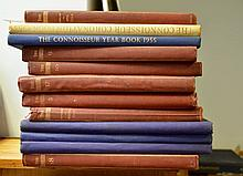 Collection of The Connoisseur Bound Volumes from 1902 - Illustrated