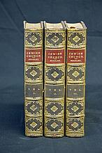 Attractive Fine Binding 19th Century - Jewish Church - 3 Vols - Religion