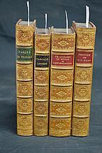 Four volumes - fine bindings