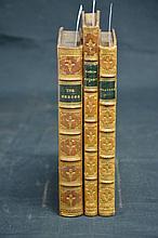 Literature - 3 volumes - fine bindings