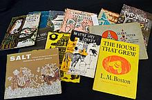Collection of Faber & Faber First Edition Children's Titles in Wrappers - Superbly Illustrated & Scarce 1960s