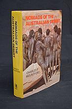 Nomads of the Australian Desert Mountford in Dustwrapper