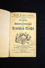1764 Antiquarian History of the German Constitution