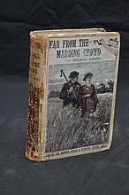 Thomas Hardy  Far From The Madding Crowd Yellowback 1889