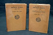 Thomas Hardy (Auto)Biography Signed in Dustwrappers