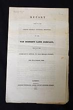 1835 Van Diemen's Land Company