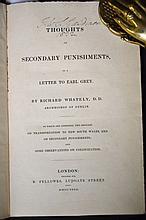 1832 Secondary Punishments