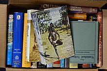 Box of books on Australian Aboriginals