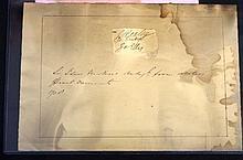 Sir Isaac Newton autograph signature