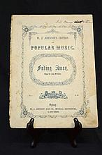 Sheet Music Published in Sydney 1850s